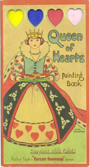 QUEEN OF HEARTS PAINTING BOOK