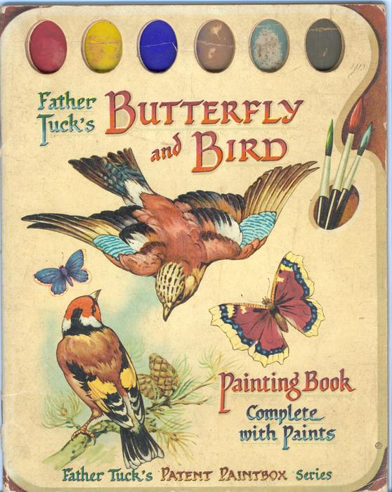 BUTTERFLY AND BIRD PAINTING BOOK
