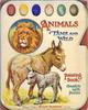 ANIMALS TAME AND WILD PAINTING BOOK