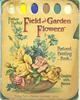 FEILD AND GARDEN FLOWERS POSTCARD PAINTING BOOK
