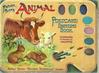 ANIMAL POSTCARD PAINTING BOOK