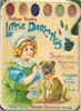 LITTLE DARLINGS POSTCARD PAINTING BOOK