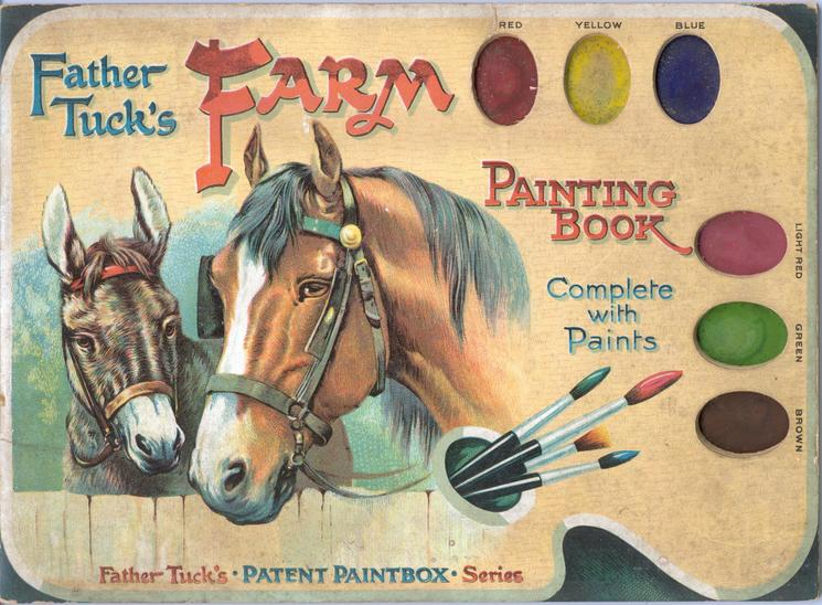 FARM PAINTING BOOK