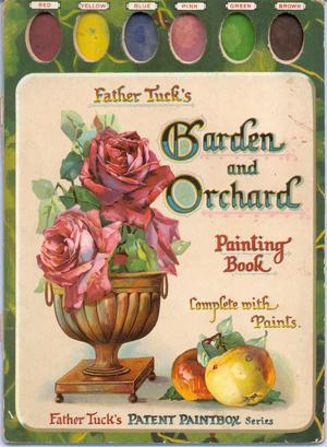 GARDEN AND ORCHARD PAINTING BOOK