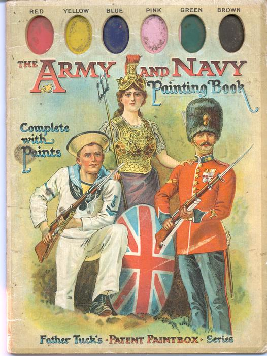 THE ARMY AND NAVY PAINTING BOOK