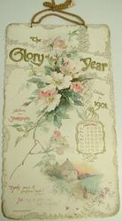 THE GLORY OF THE YEAR CALENDAR 1901 SELECTIONS FROM SHAKESPEARE