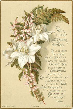 bouquet of white flowers, small pink flowers and greenery