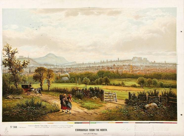 EDINBURGH FROM THE NORTH