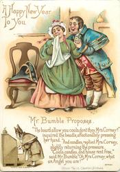 MR BUMBLE PROPOSES-OLIVER TWIST