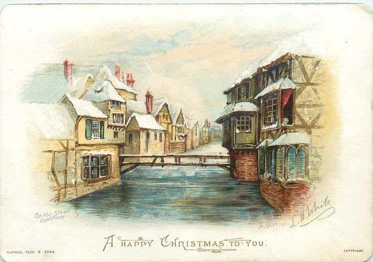 ON THE STOUR, CANTERBURY