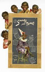 SMILES AND TEARS CALENDAR FOR 1908