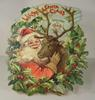 WELCOME SANTA CLAUS CALENDAR FOR 1909