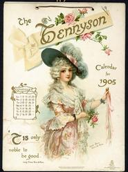 THE TENNYSON CALENDAR FOR 1905