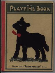 MY PLAYTIME BOOK silhouette of lamb