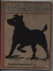 THE CHILDREN'S COMPANION silhouette of dog standing