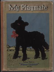 MY PLAYMATE BOOK silhouette of lamb