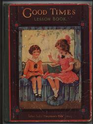 GOOD TIMES LESSON BOOK girl reading to young boy