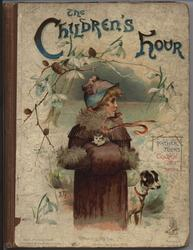 THE CHILDREN'S HOUR little girl in coat, hat, and muff