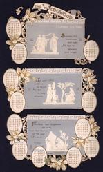 THE WEDGWOOD CALENDAR FOR 1901