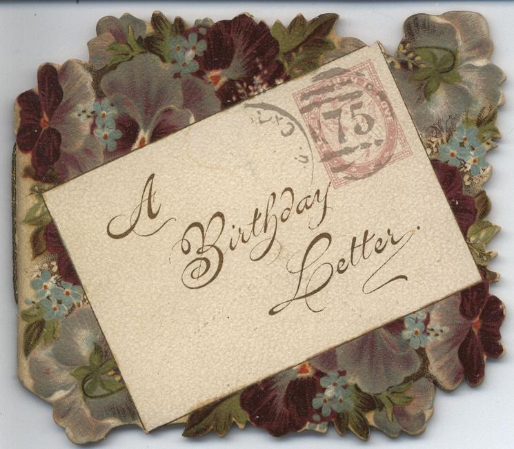 A BIRTHDAY LETTER