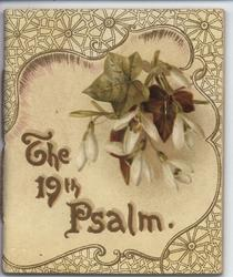THE 19TH PSALM