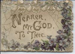 NEARER, MY GOD, TO THEE.