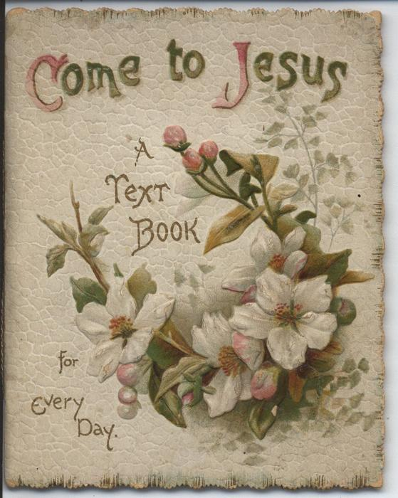 COME TO JESUS A TEXT BOOK FOR EVERYDAY