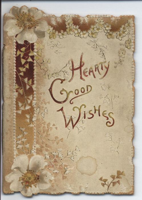 HEARTY GOOD WISHES