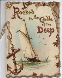 ROCKED IN THE CRADLE OF THE DEEP