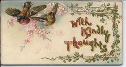 WITH KINDLY THOUGHTS