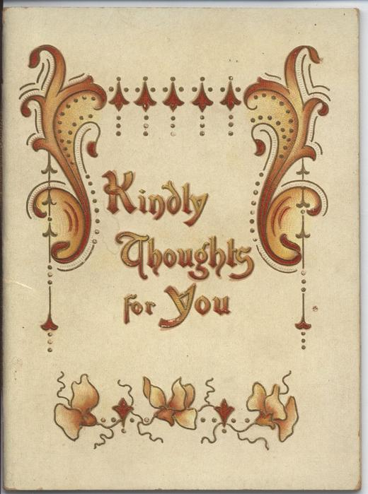 KINDLY THOUGHTS FOR YOU