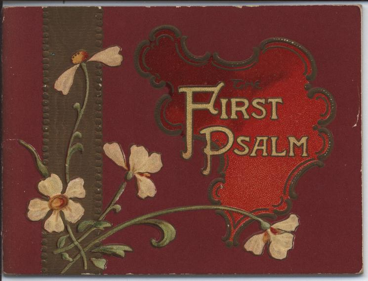 THE FIRST PSALM