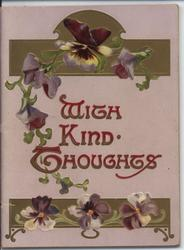 WITH KIND THOUGHTS