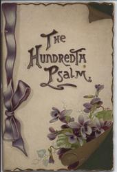 THE HUNDRETH PSALM
