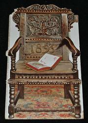THE OLD ARM CHAIR CALENDAR FOR 1895