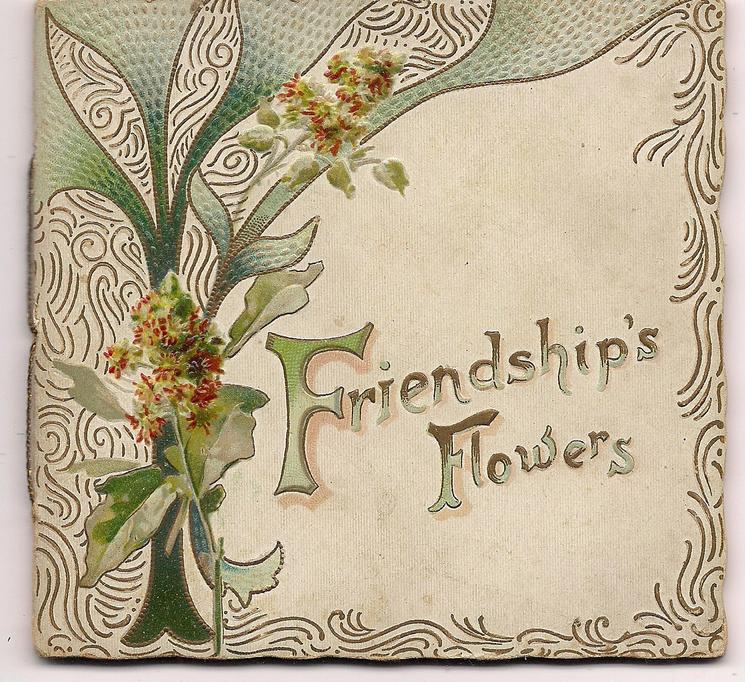 FRIENDSHIP'S FLOWERS