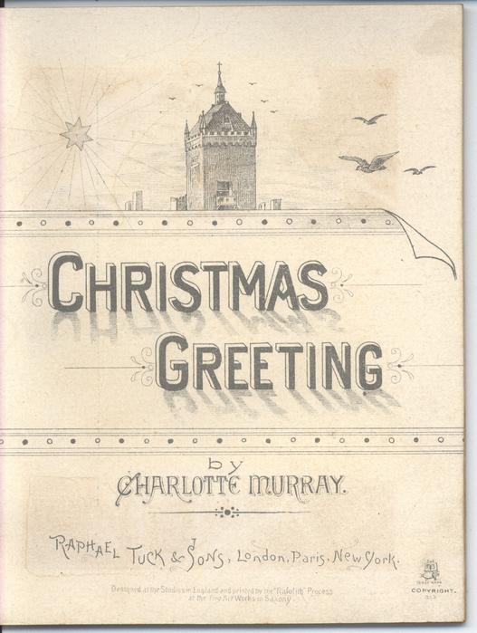 CHRISTMAS GREETING title on title page