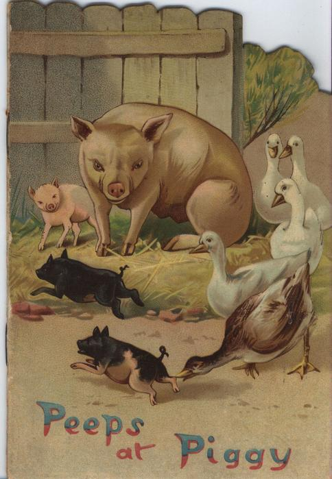 PEEPS AT PIGGY
