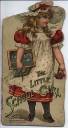 THE LITTLE SCHOOL GIRL