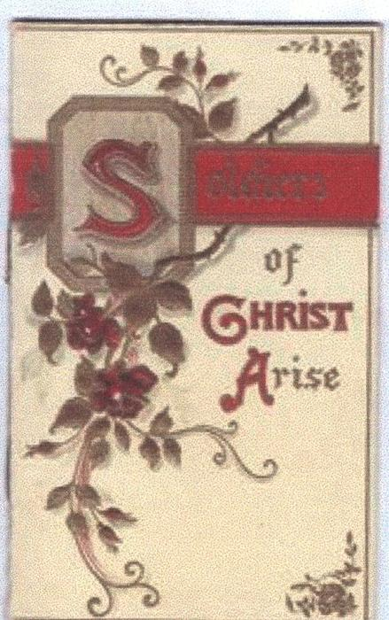 SOLDIERS OF CHRIST ARISE