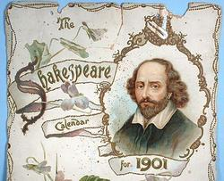 THE SHAKESPEARE CALENDAR