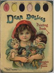 DEAR DOLLIES PAINTING BOOK