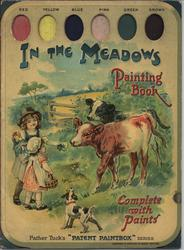 IN THE MEADOWS PAINTING BOOK