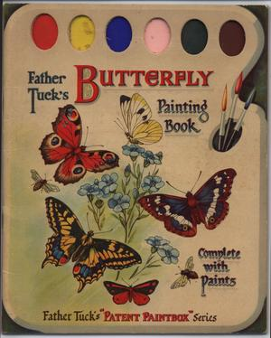 BUTTERFLY PAINTING BOOK