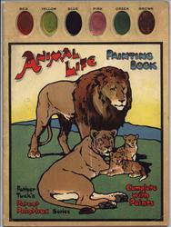 ANIMAL LIFE PAINTING BOOK