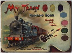 MY TRAIN PAINTING BOOK
