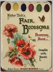 FAIR BLOSSOMS PAINTING BOOK
