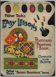 EASY LESSONS POSTCARD PAINTING BOOK