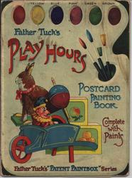 PLAY HOURS POSTCARD PAINTING BOOKS