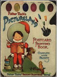 PICTURELAND POSTCARD PAINTING BOOK